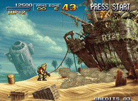 Metal Slug 3, Decrypted C