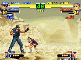 The King of Fighters 2000 (Non Encrypted P, Decrypted C)